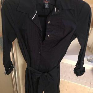 Tommy navy shirt dress